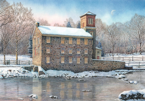 Breck's Mill -  Nick Santoleri - McGaw Graphics