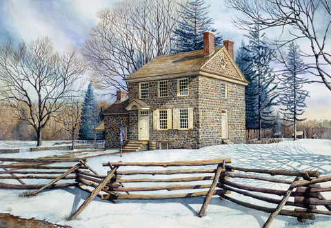 Winter at Valley Forge -  Nick Santoleri - McGaw Graphics