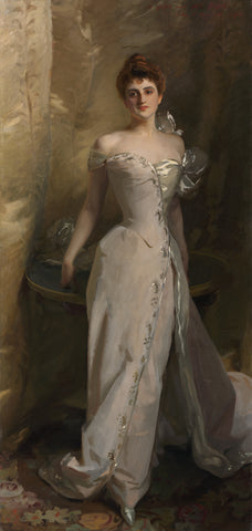 Portrait of Lisa Colt Curtis, 1898 -  John Singer Sargent - McGaw Graphics
