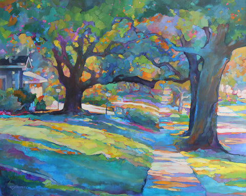 Karen Mathison Schmidt - Neighborhood Walk
