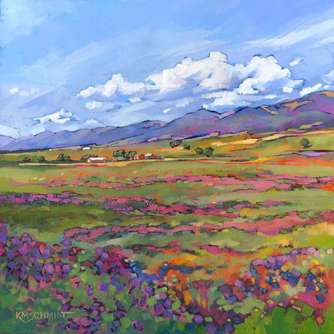 Mountain Lavender -  Karen Mathison Schmidt - McGaw Graphics