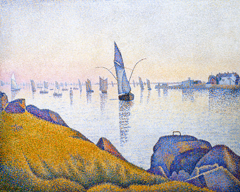 Evening Calm, Concarneau, Opus 220 (Allegro Maestoso), 1891 - McGaw Graphics