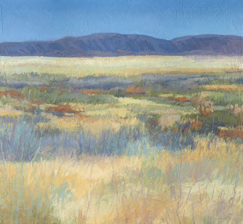 Summer Fields with Mountains -  Jeannie Sellmer - McGaw Graphics