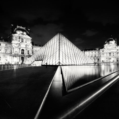 The Louvre, Study 4, Paris, France -  Marcin Stawiarz - McGaw Graphics