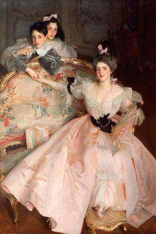 Mrs. Carl Meyer and her Children, 1896 -  John Singer Sargent - McGaw Graphics