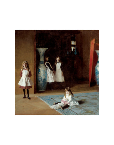 The Daughters of Edward Darley Boit, 1882 -  John Singer Sargent - McGaw Graphics