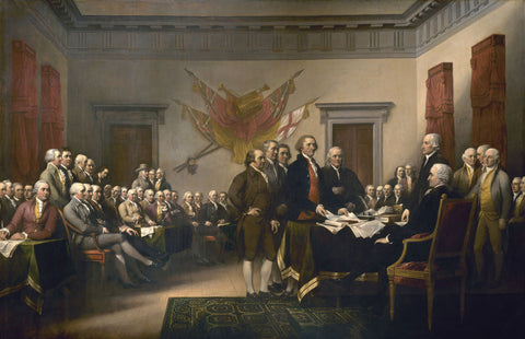 Declaration of Independence -  John Trumbull - McGaw Graphics