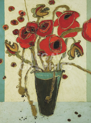 Karen Tusinski - Poppies with Snap Pods