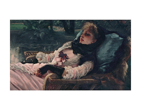 The Dreamer, of Summer Evening, ca. 1881 -  Jacques-Joseph Tissot - McGaw Graphics