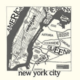 New York Map -  Urban Cricket - McGaw Graphics