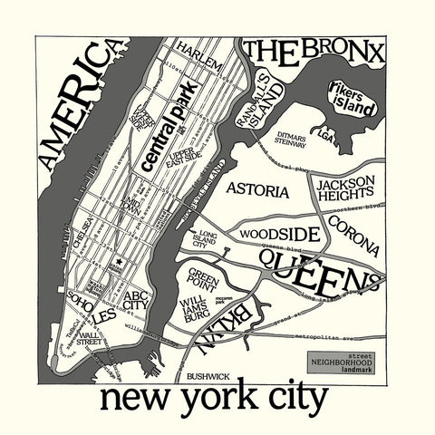 Urban Cricket - New York Map