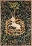 The Unicorn in Captivity, between circa 1495 and circa 1505 -  Unknown Tapestry Artist - McGaw Graphics