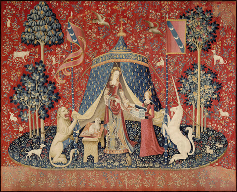 The Lady and the Unicorn, between 1484 and 1500 -  Unknown Tapestry Artist - McGaw Graphics