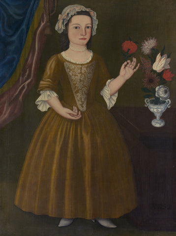 Catherina Elmendorf, 1752 -  Unknown Artist - McGaw Graphics