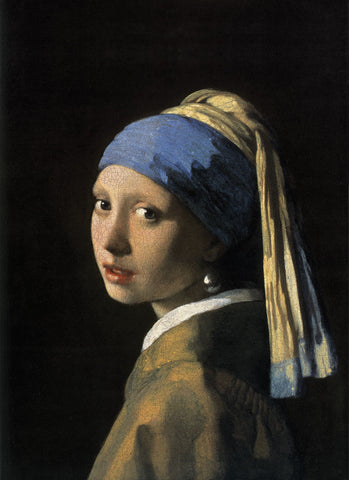 Girl with a Pearl Earring -  Jan Vermeer - McGaw Graphics