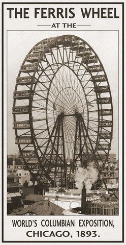 The Ferris Wheel, 1893 -  Vintage Photography - McGaw Graphics