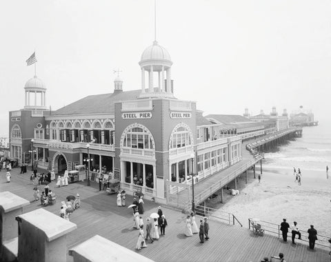 Vintage Photography - Atlantic City Steel Pier, 1910s
