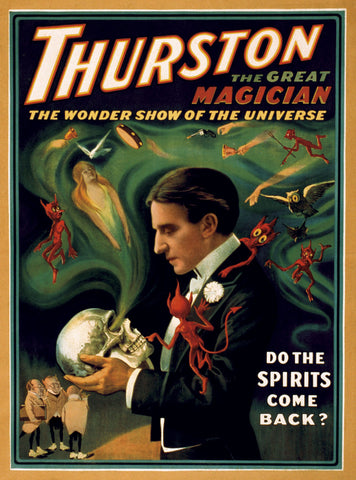 Thurston the Great Magician -  Vintage Reproduction - McGaw Graphics