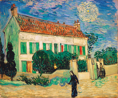 Vincent van Gogh - White House at Night, 1890