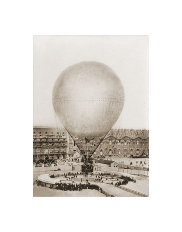 Mr. Henry Giffard's Balloon at the Tuilleries, 1878