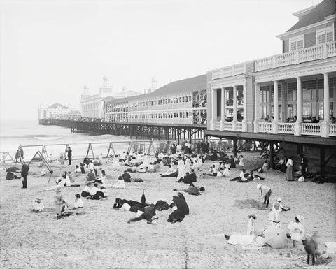 Vintage Photography - Steel Pier, Atlantic City, NJ, c. 1904