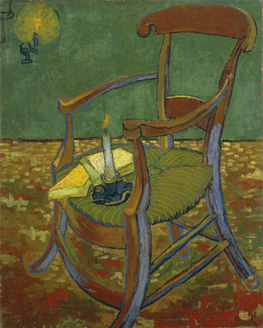 Vincent van Gogh - Gauguin's Chair, 1888