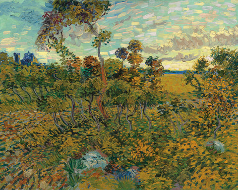 Sunset at Montmajour, 1888 -  Vincent van Gogh - McGaw Graphics