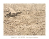 Boats at Saintes-Maries, 1888