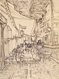 Cafe Terrace at Night, 1888 -  Vincent van Gogh - McGaw Graphics