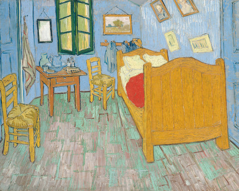 Vincent van Gogh - The Bedroom, 1889