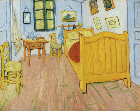 Vincent van Gogh - The Bedroom, 1888
