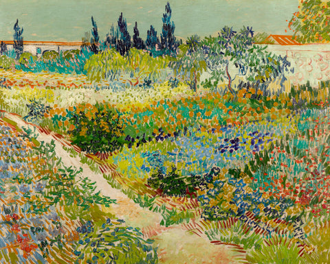 Vincent van Gogh - Garden at Arles, 1888