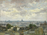Vincent van Gogh - View of Paris, 1886