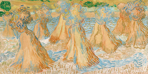 Sheaves of Wheat, 1890 -  Vincent van Gogh - McGaw Graphics
