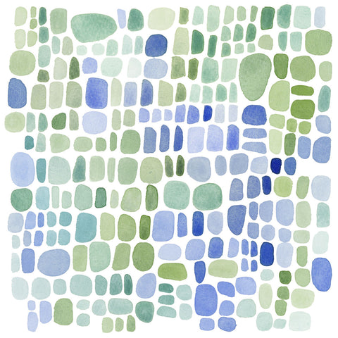 Series Sea Glass No. II -  Louise van Terheijden - McGaw Graphics