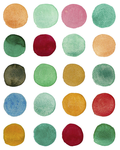 Louise van Terheijden - Series Colored Dots No. I
