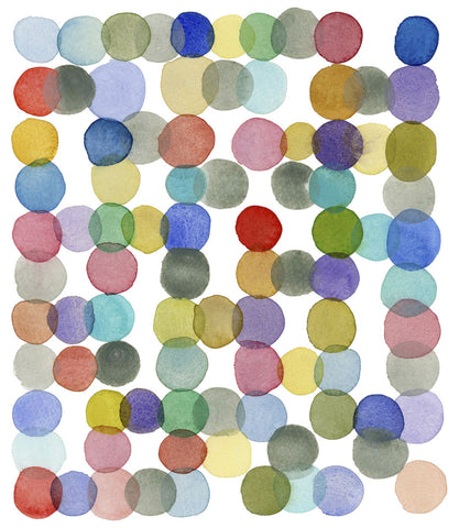 Louise van Terheijden - Series Colored Dots No. II