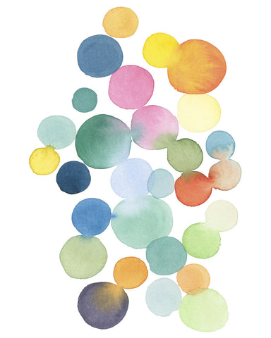 Louise van Terheijden - Series Colored Dots No. III