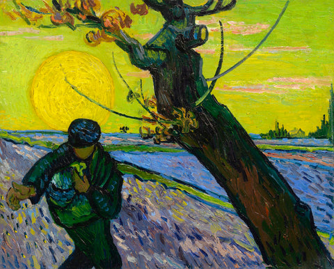 Vincent van Gogh - The Sower, 1888