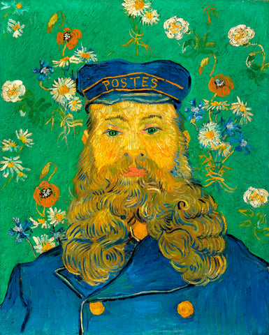 Vincent van Gogh - Portrait of Joseph Roulin, 1889