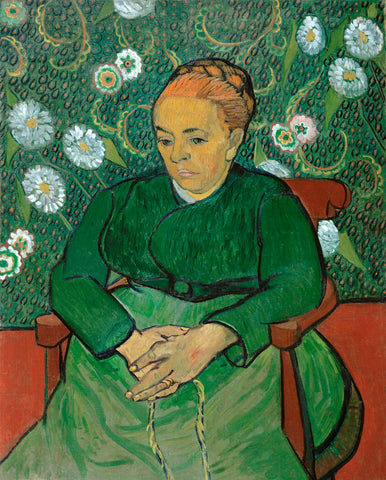 Vincent van Gogh - La Berceuse (Portrait of Madame Roulin), 1888-1889