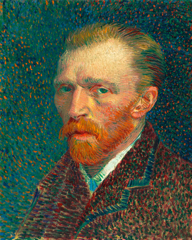 Vincent van Gogh - Self Portrait, 1887