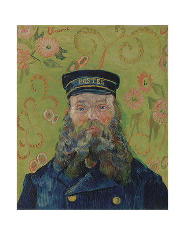 The Postman (Joseph-Etienne Roulin), 1889 -  Vincent van Gogh - McGaw Graphics