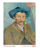 The Smoker (Le Fumeur), 1888 -  Vincent van Gogh - McGaw Graphics