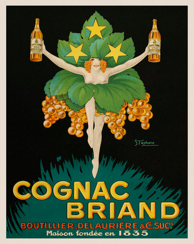 Cognac Briand -  Vintage Posters - McGaw Graphics