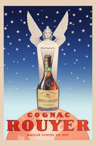 Cognac Rouyer -  Vintage Posters - McGaw Graphics