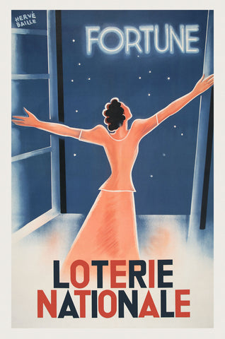 Vintage Posters - Loterie Nationale