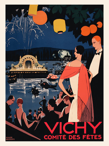 Vichy Comite des Fetes -  Vintage Posters - McGaw Graphics