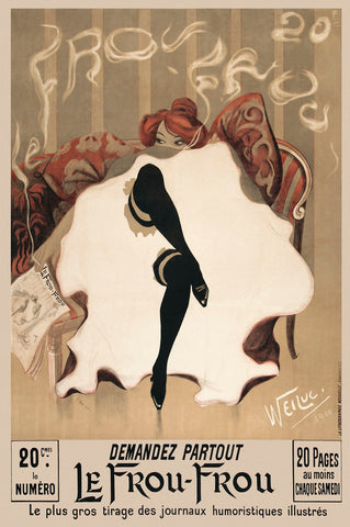 Le Frou-Frou -  Vintage Posters - McGaw Graphics