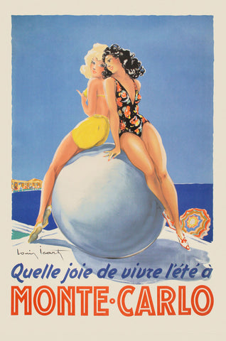 Monte Carlo -  Vintage Posters - McGaw Graphics